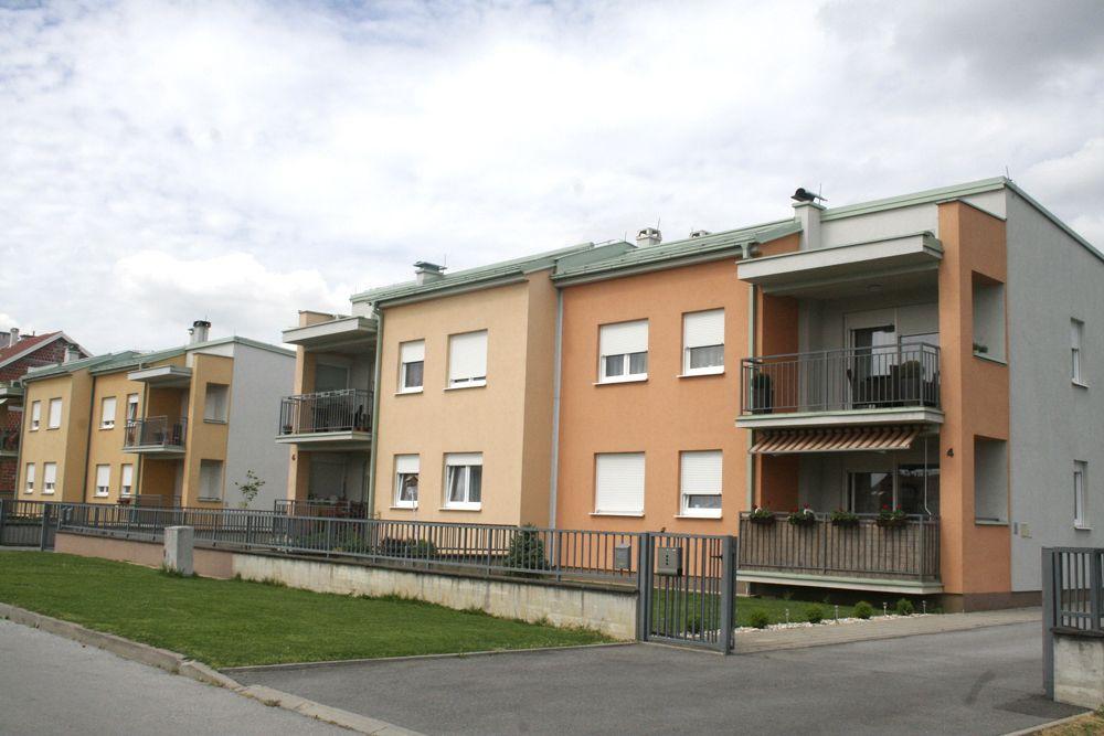 Stambene dvojne zgrade, Bjelovar