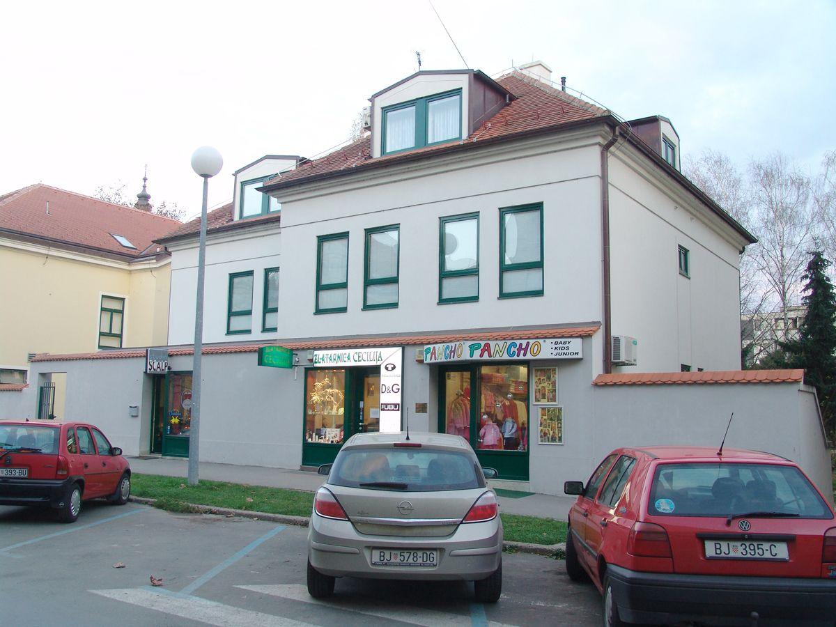 Stambeno poslovna zgrada Gundulićeva, Bjelovar