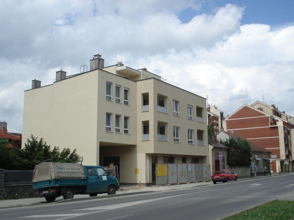 Višestambene zgrade Franjevačka, Bjelovar