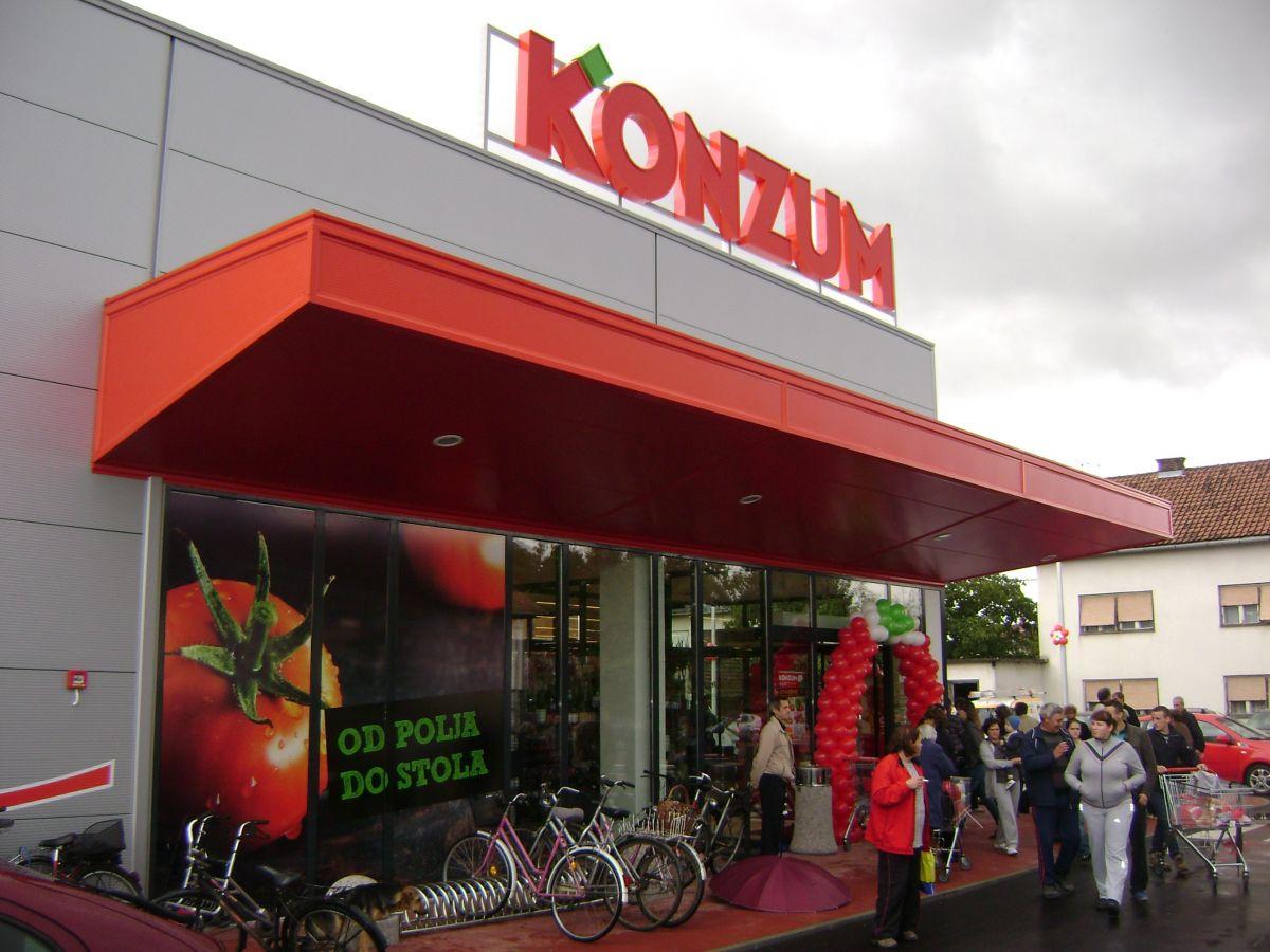 Trgovački centar Konzum, Đurđevac