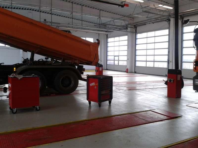 Servisni centar vozila, Severin