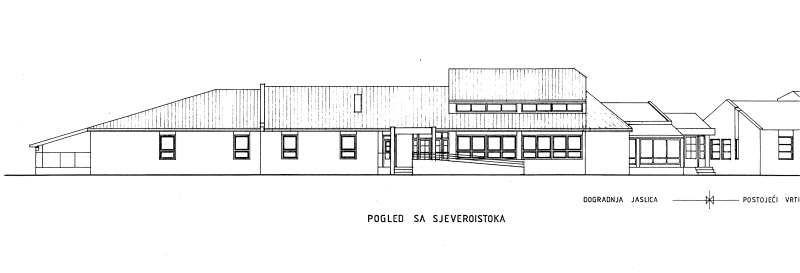Dječji vrtić, Bjelovar - dogradnja