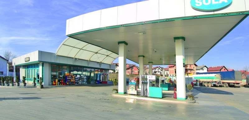 Benzinska postaja Šola, Bjelovar