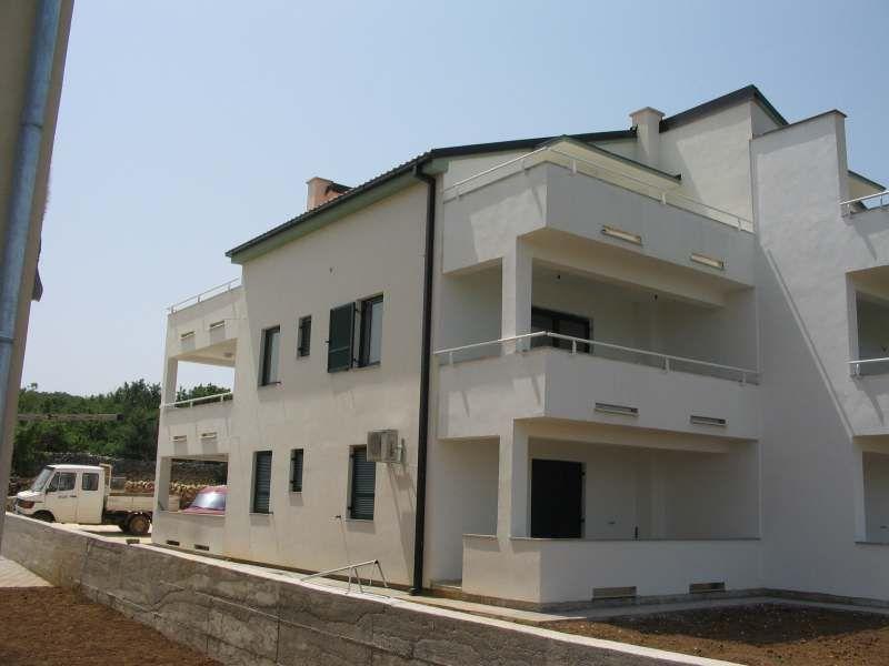 Apartmanska zgrada, Klimno, Otok Krk