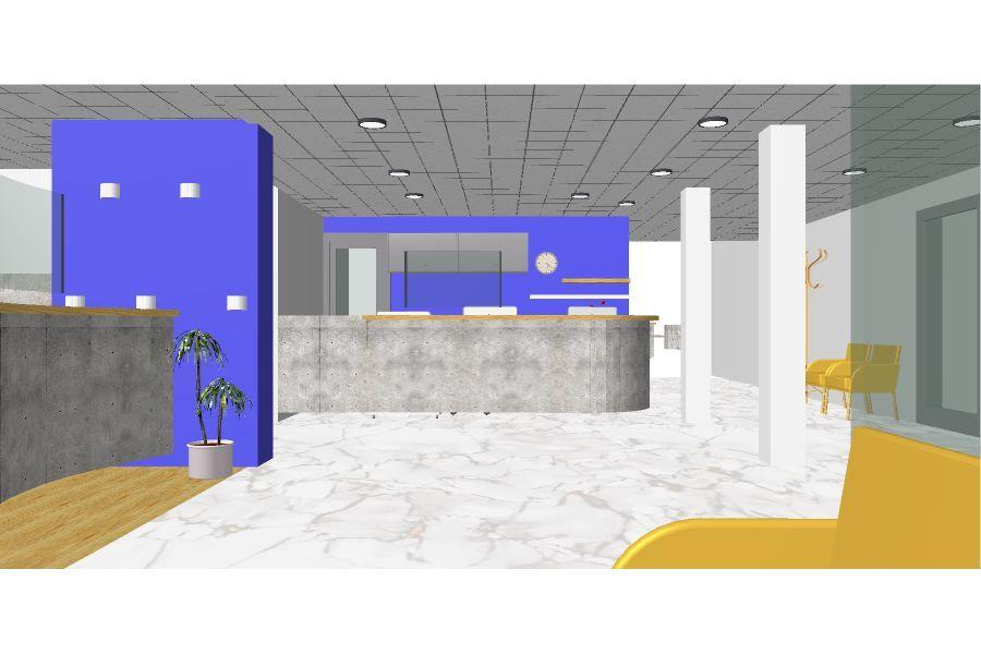 Specijalna bolnica za medicinsku rehabilitaciju, Lipik, uređenje