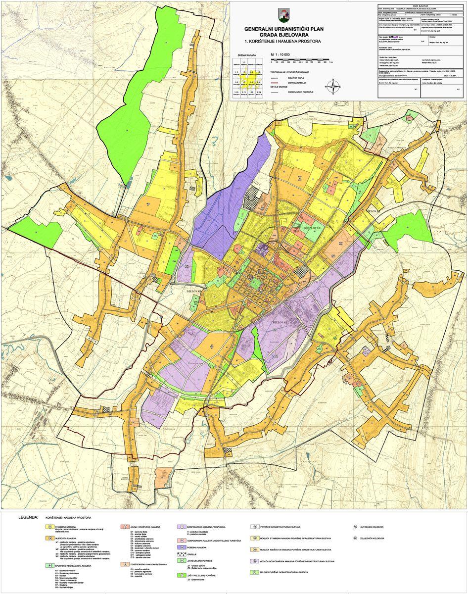 Generalni urbanistički plan Grada Bjelovara