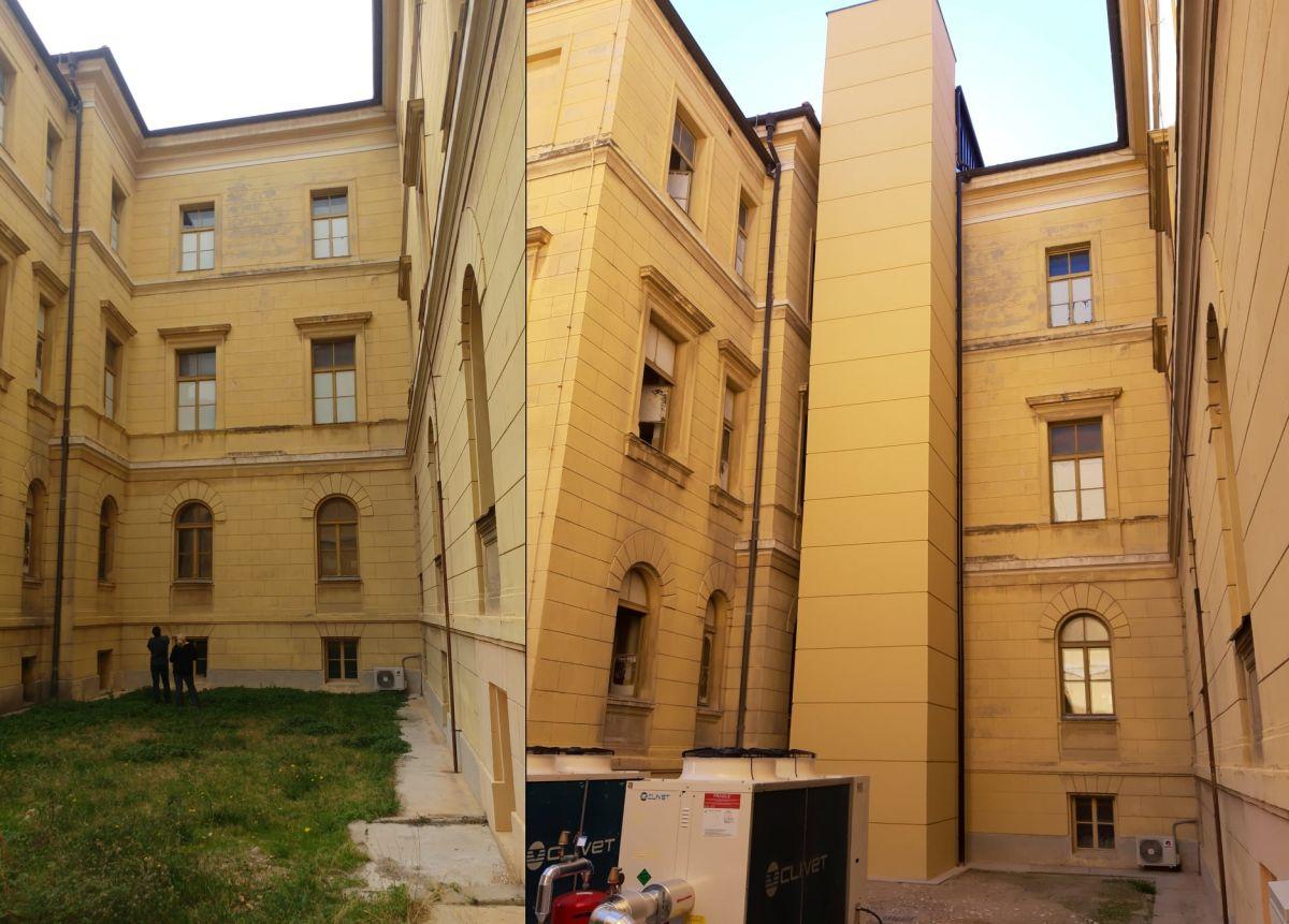 Županijski sud u Šibeniku, rekonstrukcija i dogradnja