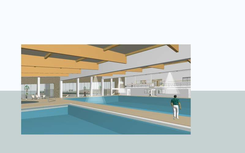 Dvoransko plivalište - zatvoreni bazen, Bjelovar