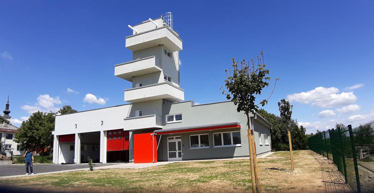 Vatrogasni centar, Štefanje