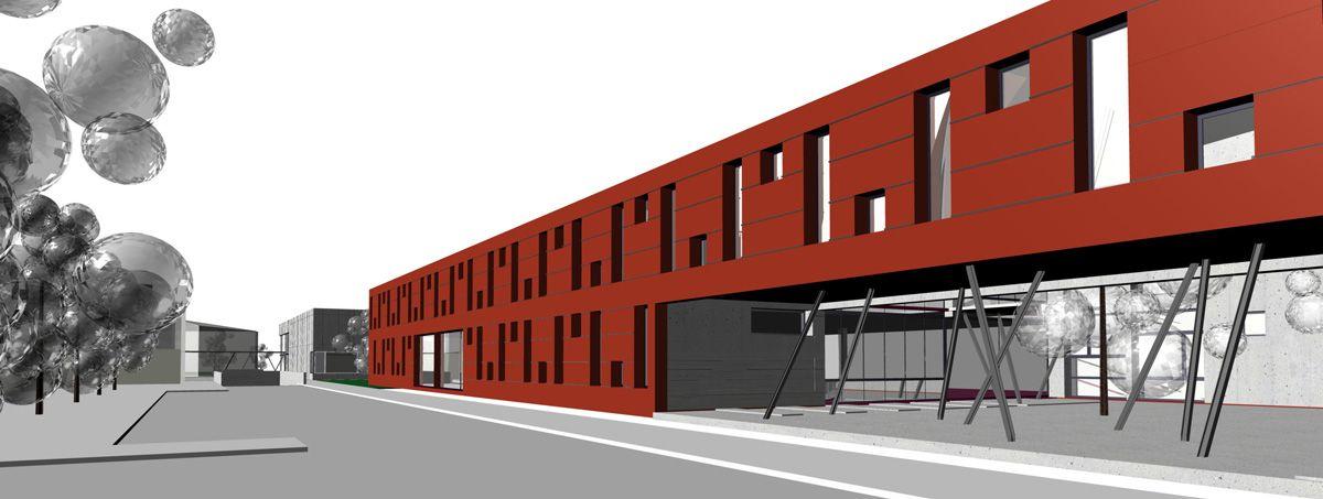 Centar za odgoj, obrazovanje i rehabilitaciju i sportska dvorana, Virovitica